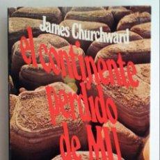 Libros de segunda mano: EL CONTINENTE PERDIDO DE MU. JAMES CHURCHWARD. ATE. Lote 143412938