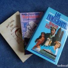 Libros de segunda mano: TRES LIBROS. Lote 143587798