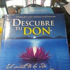 Libros de segunda mano: DESCUBRE TU DON. Lote 143593732