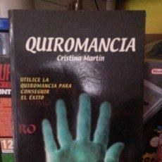 Libros de segunda mano: QUIROMANCIA. Lote 143604616
