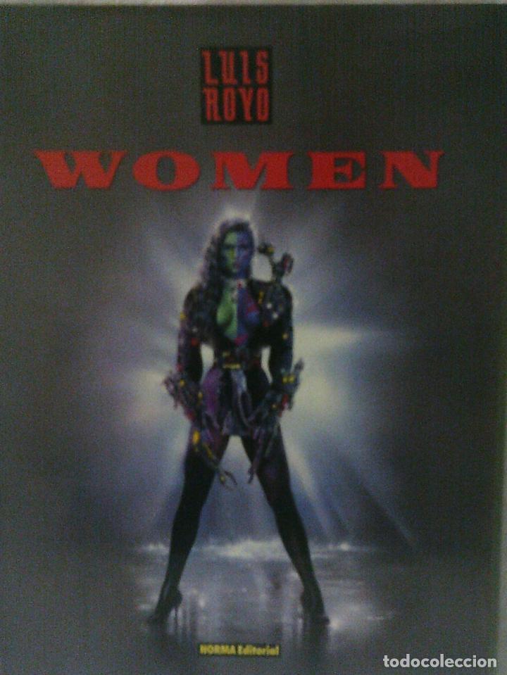 LIBRO ILUSTRACIONES WOMEN, LUIS ROYO, NORMA EDITORIAL (Libros de Segunda Mano - Bellas artes, ocio y coleccionismo - Otros)