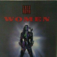 Libros de segunda mano: LIBRO ILUSTRACIONES WOMEN, LUIS ROYO, NORMA EDITORIAL. Lote 143628646