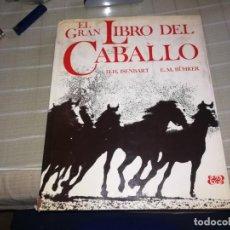 Libros de segunda mano: EL GRAN LIBRO DEL CABALLO EDITORIAL BLUME 1975 MIREN FOTOS. Lote 143708626