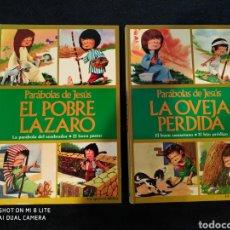Libros de segunda mano: 2 CUENTOS PARABOLAS DE JESUS 1975. Lote 143715349