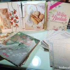 Libros de segunda mano: TREMENDA COLECCIÓN DE 60 NÚMEROS DE MIL IDEAS DE BORDADO - EDICIONES ORBIS - AÑOS 90 - . Lote 143717614