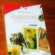 Libros de segunda mano: LIBRO 'REGRESIONES ¿RECUERDOS DE OTRAS VIDAS?' (RAYMOND MOODY). Lote 143863902