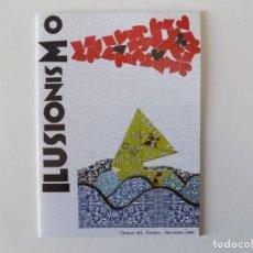 Libros de segunda mano: LIBRERIA GHOTICA. REVISTA ILUSIONISMO. NÚM. 452. OCTUBRE - DICIEMBRE 2008. MUY ILUSTRADO. MAGIA. Lote 143929882