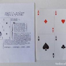 Libros de segunda mano: LIBRERIA GHOTICA. MAGIC POKER. EL SUEÑO DE ABEN-DHINAT.1980. INSTRUCCIONES Y OBJETO.. Lote 143931106