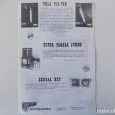 Libros de segunda mano: LIBRERIA GHOTICA. CATALOGO DE MAGIA. MANDRAGORA. 1980. FOLIO. MUY ILUSTRADO.. Lote 143931246