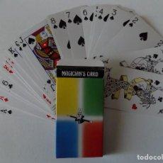 Libros de segunda mano: LIBRERIA GHOTICA. BARAJA DE MAGIA. MAGICIAN ´S CARD. 1980.. Lote 143931518