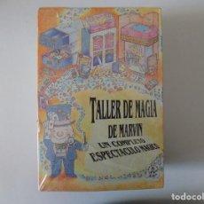 Libros de segunda mano: LIBRERIA GHOTICA. JUEGO TALLER DE MAGIA DE MARVIN.1980. PRECINTADO SIN ABRIR.. Lote 143932482