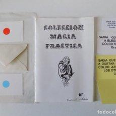 Libros de segunda mano: LIBRERIA GHOTICA. COLECCIÓN MAGIA PRACTICA. PREDICCIÓN INFALIBLE.1980.INSTRUCCIONES Y OBJETOS.. Lote 143932894