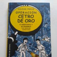 Libros de segunda mano: OPERACIÓN CETRO DE ORO. Lote 143941105