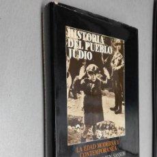 Libros de segunda mano: HISTORIA DEL PUEBLO JUDÍO 3: LA EDAD MODERNA Y CONTEMPORÁNEA / H. H. BEN SASSON / ALIANZA ED. 1988. Lote 143972450