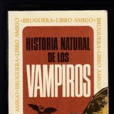 Libros de segunda mano: HISTORIA NATURAL DE LOS VAMPIROS, ANTHONY MASTERS, ENVÍO GRATIS. Lote 143997086