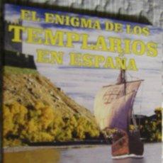 Livros em segunda mão: EL ENIGMA DE LOS TEMPLARIOS EN ESPAÑA, ARCA DE PAPEL. Lote 144009966