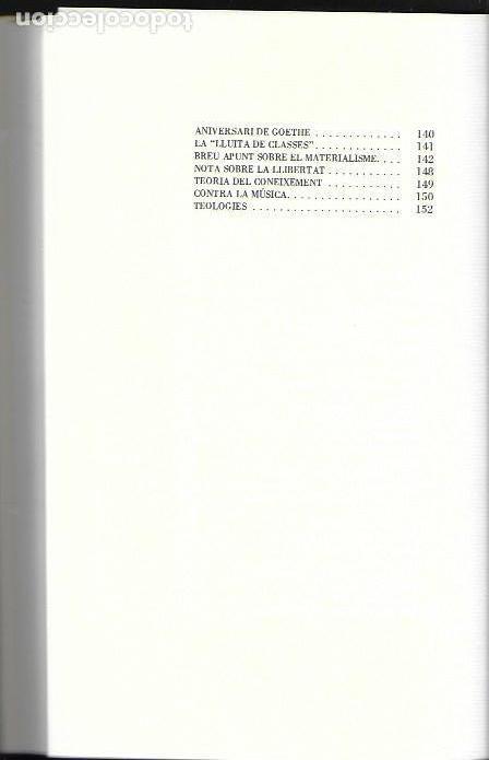 Libros de segunda mano: Sagitari / Joan Fuster. València : Diputació, 1985. 24x16cm. 153 p. - Foto 3 - 144067366