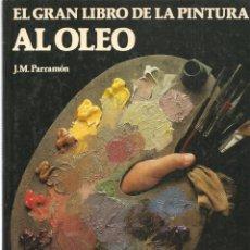 Libros de segunda mano: EL GRAN LIBRO DE LA PINTURA AL ÓLEO. J.M. PARRAMÓN. CIRCULO DE LECTORES (ST/MG.A). Lote 144072790