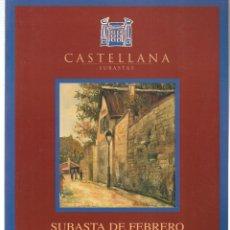 Libros de segunda mano: CASTELLANA. SUBASTAS PINTURA. 9 FEBRERO 1999. (ST/MG.A). Lote 144073210