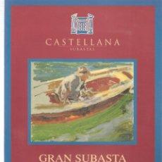 Libros de segunda mano: CASTELLANA. GRAN SUBASTA PINTURA. 3 NOVIEMBRE 1998. 1998. (ST/MG.A). Lote 144075578