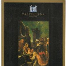 Libros de segunda mano: CASTELLANA. GRAN SUBASTA DE NAVIDAD. 9 DICIEMBRE 1998. (ST/MG.A). Lote 144075754