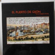 Libros de segunda mano: EL PUERTO DE GIJON EN LA TARJETA POSTAL. COLECCION MARTIN CARRASCO MARQUES. AYUNTAMIENTO DE GIJON /. Lote 144077534