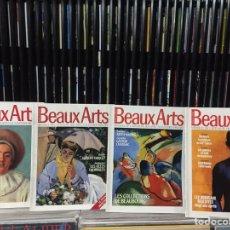 Libros de segunda mano: LOTE DE REVISTAS BEAUX ARTS. N°18, 21, 32 Y 36.. Lote 144081790