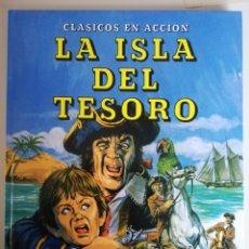Libros de segunda mano: LA ISLA DEL TESORO - EVEREST CLASICOS EN ACCIÓN. Lote 144117713