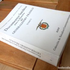 Libros de segunda mano: DOCUMENTOS INÉDITOS PARA LA HISTORIA DEL GENERALÍSIMO FRANCO DE LA FUNDACIÓN FRANCISCO FRANCO. Lote 144164442