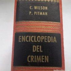 Libros de segunda mano: ENCICLOPEDIA DEL CRIMEN. Lote 144166498