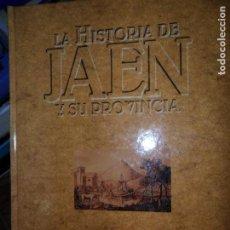 Libros de segunda mano: LA HISTORIA DE JAÉN Y SU PROVINCIA, COLECCIONABLE COMPLETO, ED. IDEAL, 1996. Lote 144188430