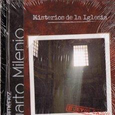 Libros de segunda mano: CUARTO MILENIO MISTERIOS DE LA IGLESIA Nº 6 (LIBRO DVD PRECINTADO). Lote 144221898