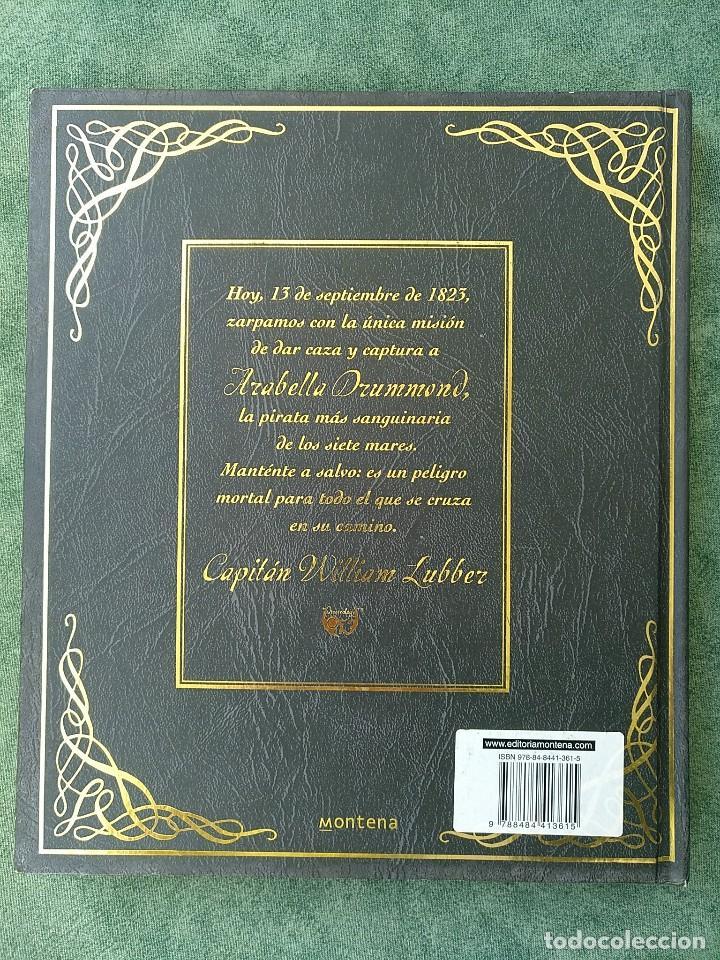 Libros de segunda mano: PIRATAS - DIARIO DE NAVEGACIÓN DE WILLIAM LUBBER. MONTENA - MUY BUEN ESTADO. - Foto 3 - 144225254