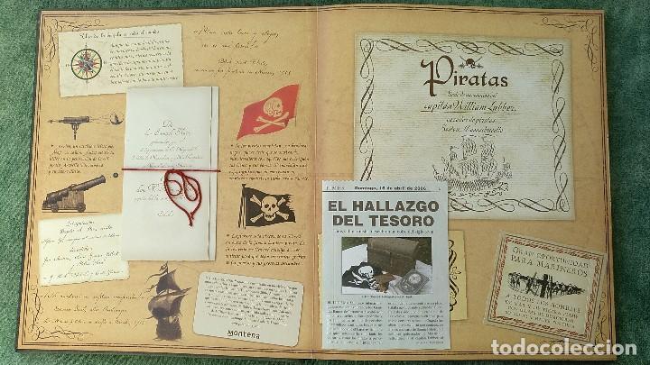 Libros de segunda mano: PIRATAS - DIARIO DE NAVEGACIÓN DE WILLIAM LUBBER. MONTENA - MUY BUEN ESTADO. - Foto 4 - 144225254