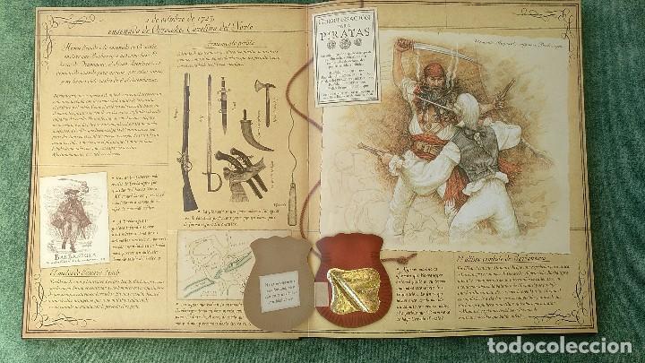 Libros de segunda mano: PIRATAS - DIARIO DE NAVEGACIÓN DE WILLIAM LUBBER. MONTENA - MUY BUEN ESTADO. - Foto 7 - 144225254