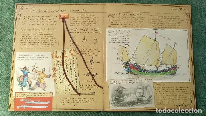 Libros de segunda mano: PIRATAS - DIARIO DE NAVEGACIÓN DE WILLIAM LUBBER. MONTENA - MUY BUEN ESTADO. - Foto 8 - 144225254