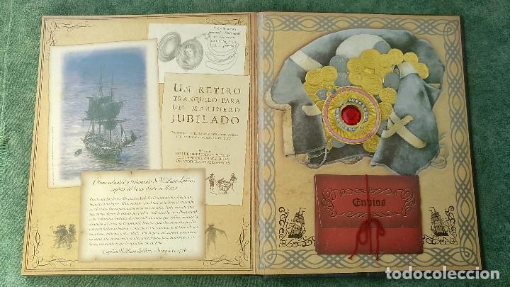 Libros de segunda mano: PIRATAS - DIARIO DE NAVEGACIÓN DE WILLIAM LUBBER. MONTENA - MUY BUEN ESTADO. - Foto 10 - 144225254