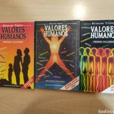 Livros em segunda mão: VALORES HUMANOS. BERNABE TIERNO. I, II Y III VOLUMEN.. Lote 154673961