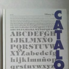 Libros de segunda mano: TIPOGRAFIA POSTSCRIPT CATALOGO 1. Lote 144295616