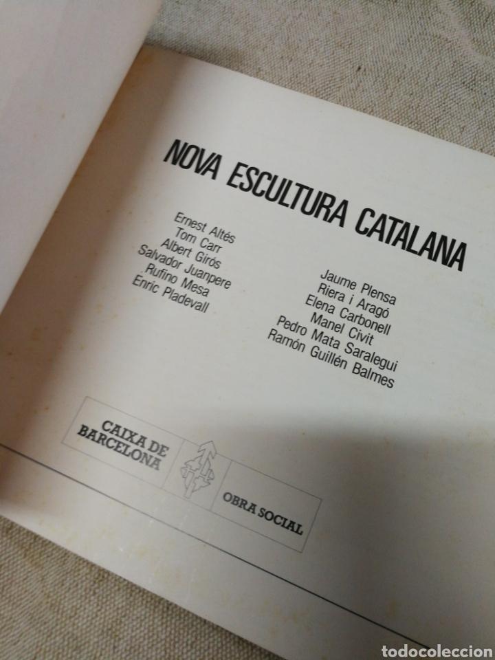 Libros de segunda mano: NOVA ESCULTURA CATALANA- CAIXA DE BARCELONA, OBRA SOCIAL, 1985. - Foto 2 - 144328693