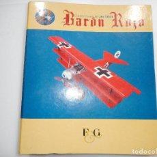 Libros de segunda mano: CONSTRUYE EL AVIÓN DEL BARÓN ROJO Y91550. Lote 144329790