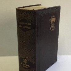 Libros de segunda mano: ROSALIA DE CASTRO. OBRAS COMPLETAS. AGUILAR-JOYA. PRIMERA EDICIÓN, 1944.. Lote 144334354