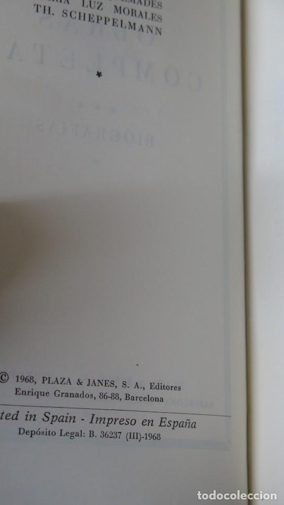 Libros de segunda mano: 1968.- OBRAS COMPLETAS. BIOGRAFIAS. ANDRE MAUROIS. TOMO III. PLAZA JANES - Foto 3 - 144390542