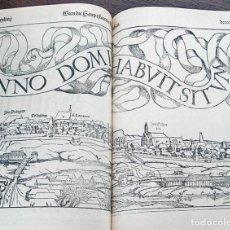 Libros de segunda mano: FACSÍMIL DE LA COSMOGRAFÍA DE SEBASTIAN MUNSTER (S. XVI). Lote 194897126