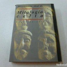 Libros de segunda mano: DICCIONARIO AKAL DE MITOLOGIA CELTA-RAMON SAINERO-N 1. Lote 144494634