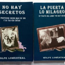 Livres d'occasion: NO HAY SECRETOS (1 Y 2). WOLFE LOWENTHAL.. Lote 144534572