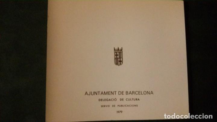 Libros de segunda mano: QUIM BORRALERAS I ELS SEUS AMICS-ENRIC JARDI-AJUNTAMENT DE BARCELONA-1979 - Foto 2 - 144654234