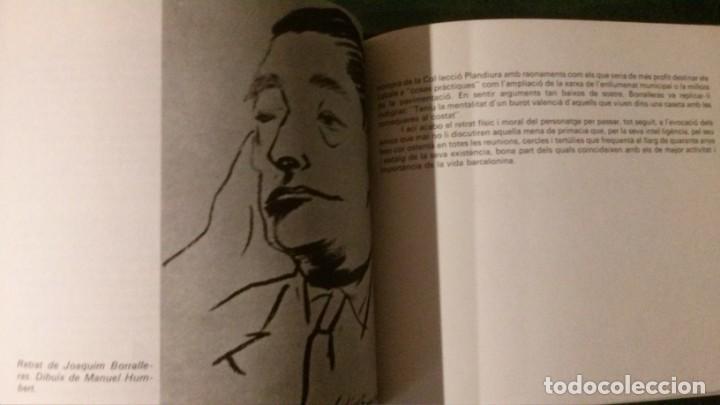 Libros de segunda mano: QUIM BORRALERAS I ELS SEUS AMICS-ENRIC JARDI-AJUNTAMENT DE BARCELONA-1979 - Foto 7 - 144654234