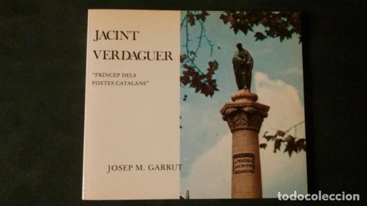 JACINT VERDAGUER-PRÍNCEP DELS POETES CATALANS-JOSEP M. GARRUT-AJUNTAMENT DE BARCELONA-1977 (Libros de Segunda Mano - Historia - Otros)