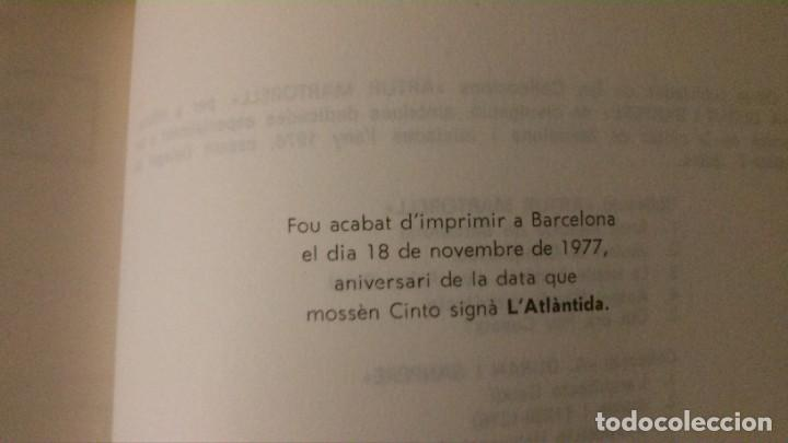 Libros de segunda mano: JACINT VERDAGUER-PRÍNCEP DELS POETES CATALANS-JOSEP M. GARRUT-AJUNTAMENT DE BARCELONA-1977 - Foto 4 - 144654650